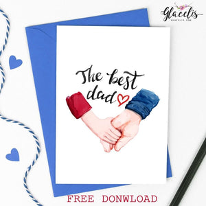 FREE - Fathers Day Dowland Card ! - Custom Personalized Gifts for friends, Family & special occasions!