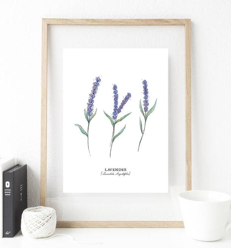 Set of 3 Botanical Print Art - Custom Personalized Gifts for friends, Family & special occasions!