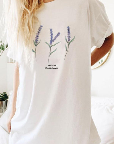 Lavender Tee - Custom Personalized Gifts for friends, Family & special occasions!