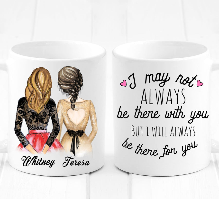 Personalized Best Friends gifts mug