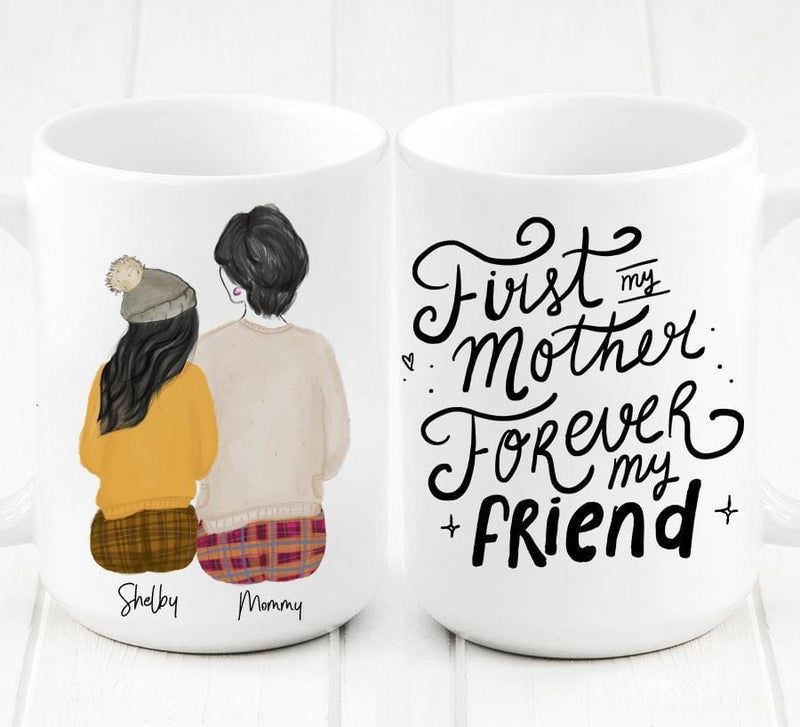 Personalized Daughter and Mom Mug