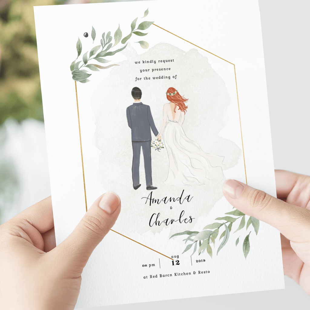 Personalized Wedding Invitation