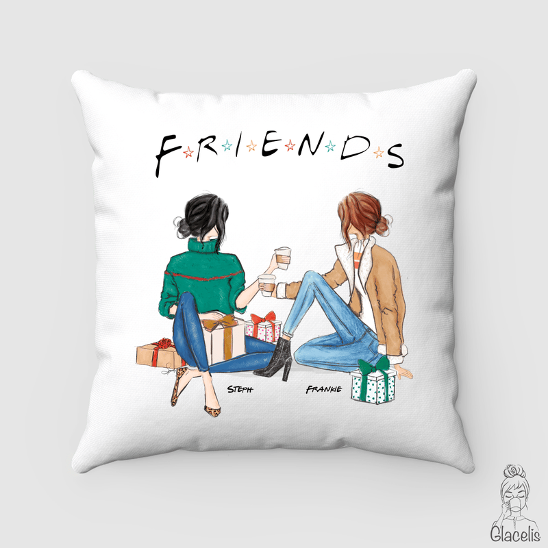 Personalized Friends Pillow