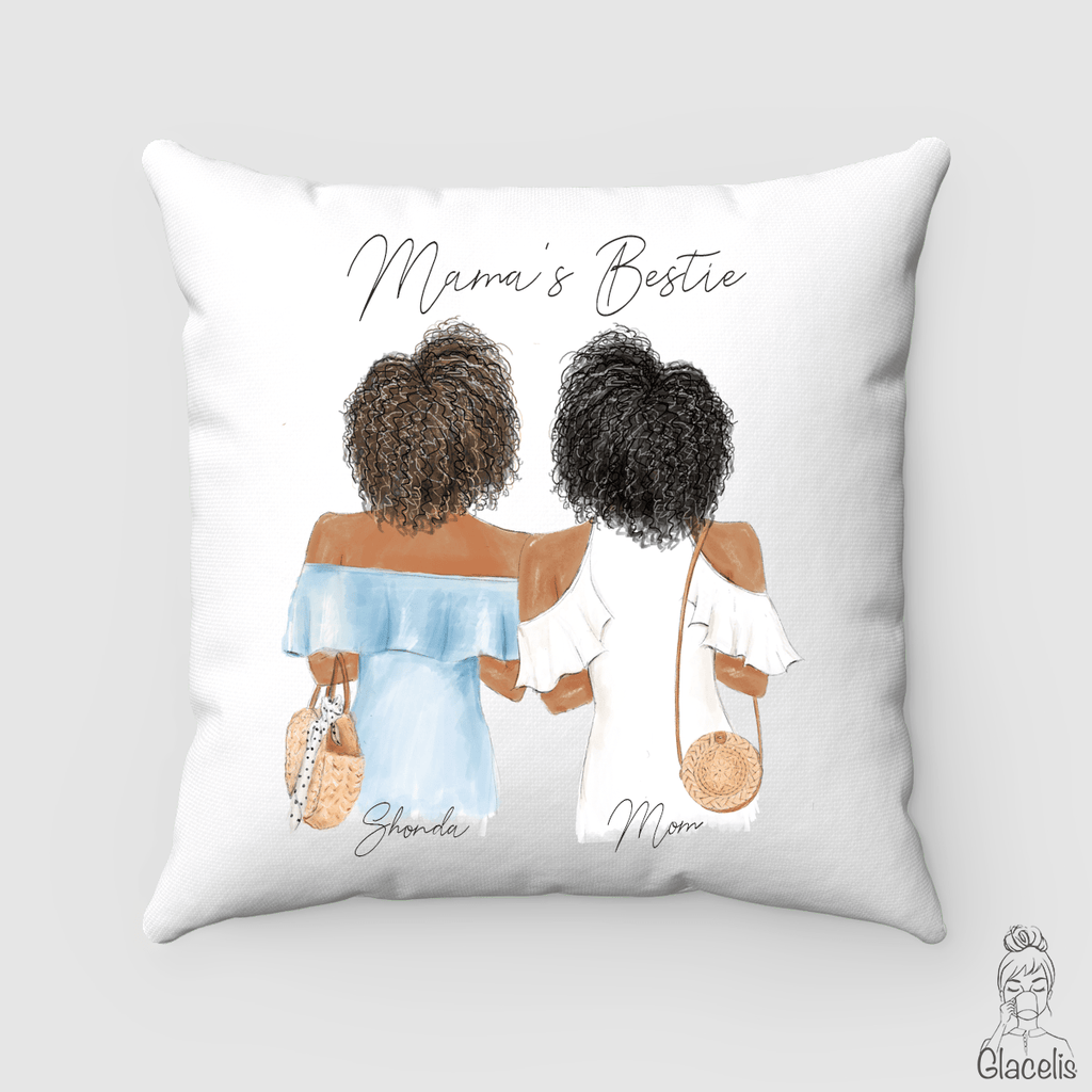 Personalized Besties Pillow