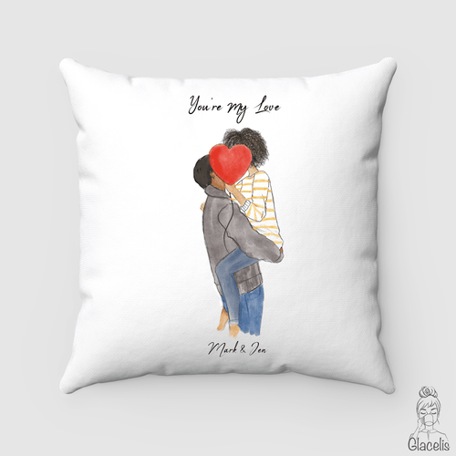 Personalized Couple Pillow