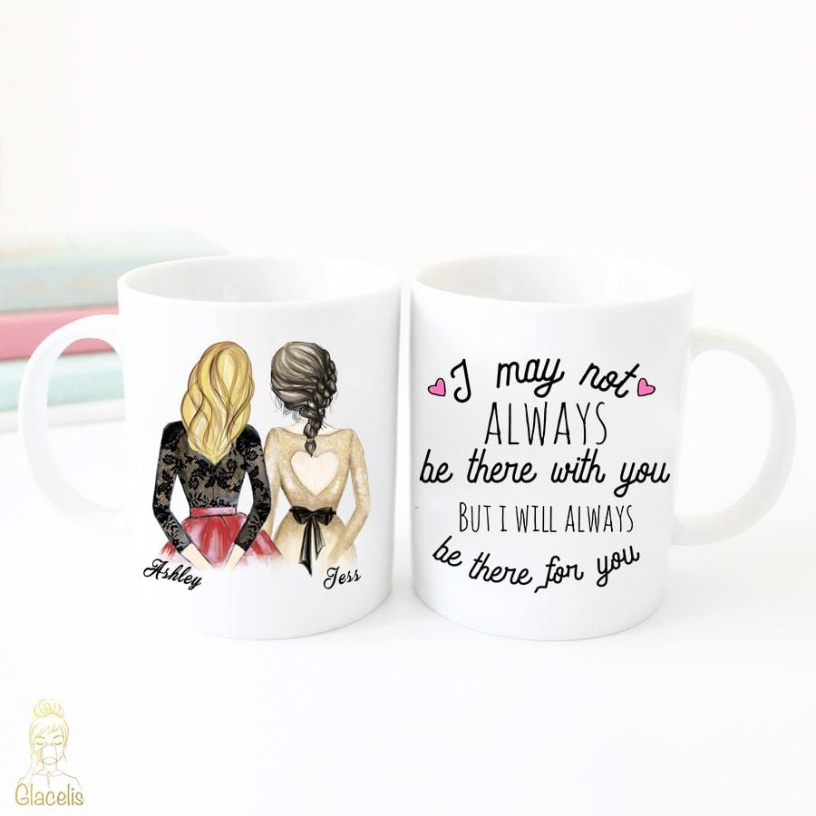 Unique Wedding Gifts For Best Friend: Personalized Best Friends Gifts Mug