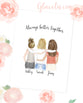 Personalized friendship Wall Art / Always better together