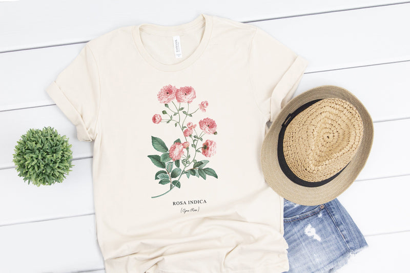 Rosa Indica Tee - Custom Personalized Gifts for friends, Family & special occasions!