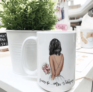 Soon To Be Mrs - Personalized Mrs Coffee Mug - Custom Personalized Gifts for friends, Family & special occasions!