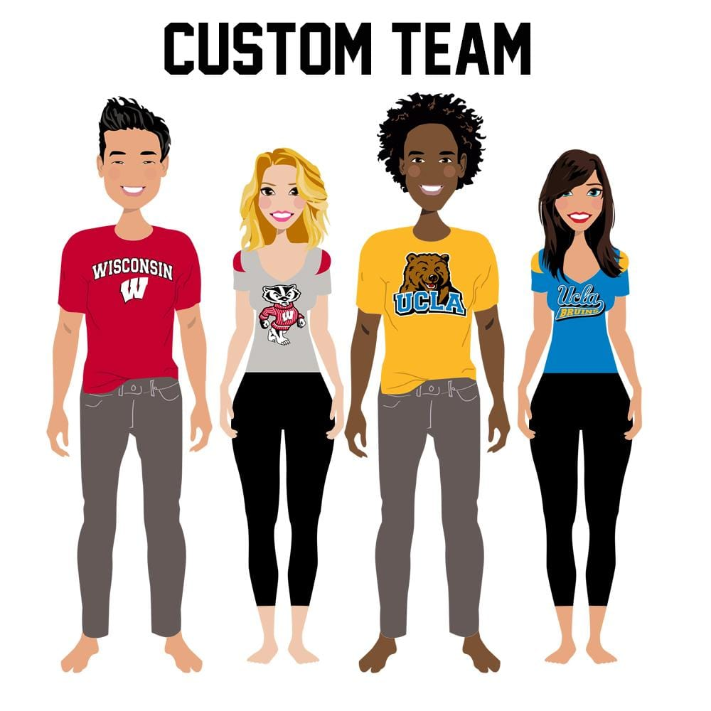 University Team Print Art - Custom Personalized Gifts for friends, Family & special occasions!