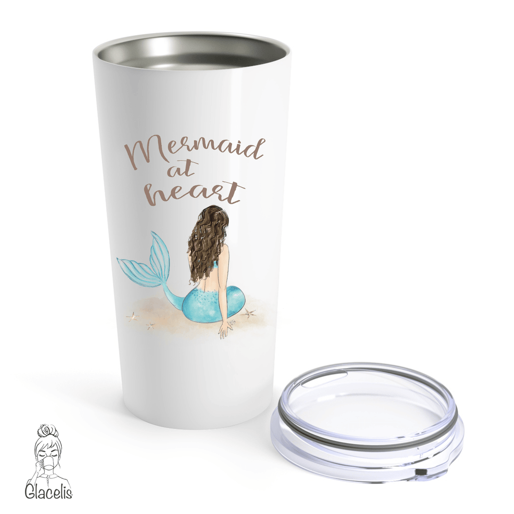 Mermaid at Heart Travel Mug