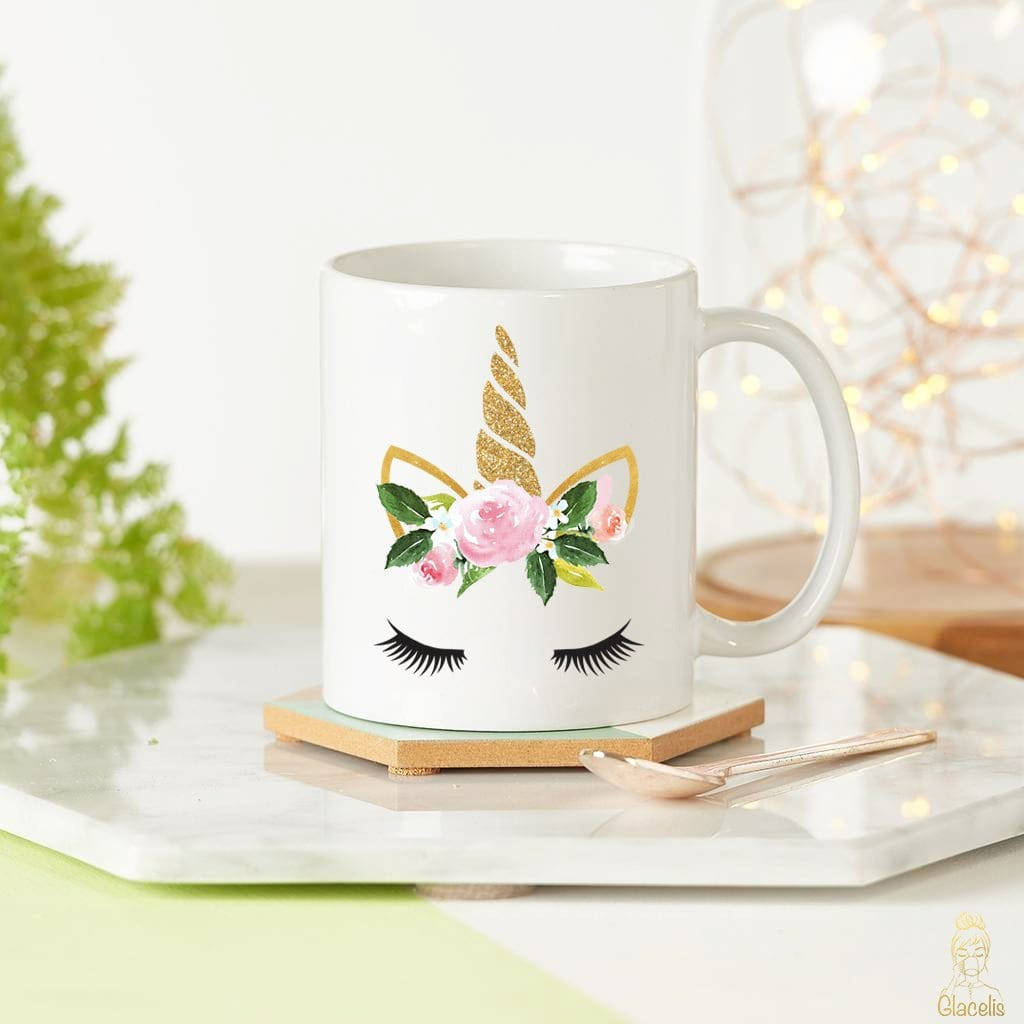 Unicorn Love Coffee Mug By  Glacelis® - Custom Personalized Gifts for friends, Family & special occasions!