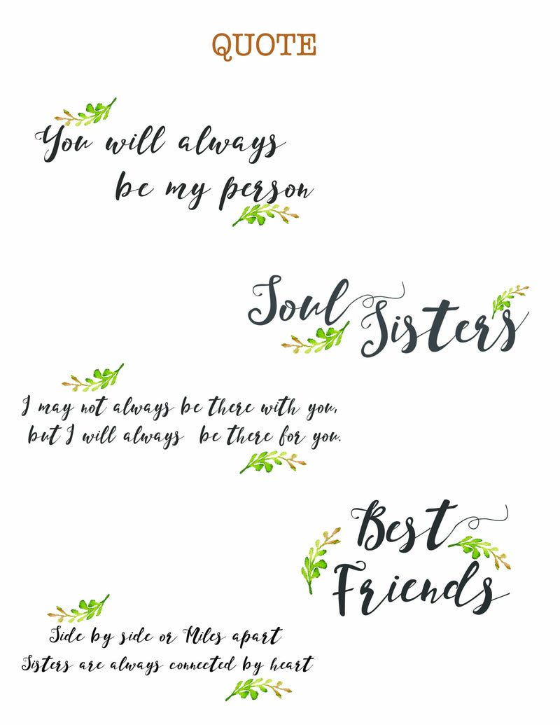 Personalized friendship Wall Art - Custom Personalized Gifts for friends, Family & special occasions!
