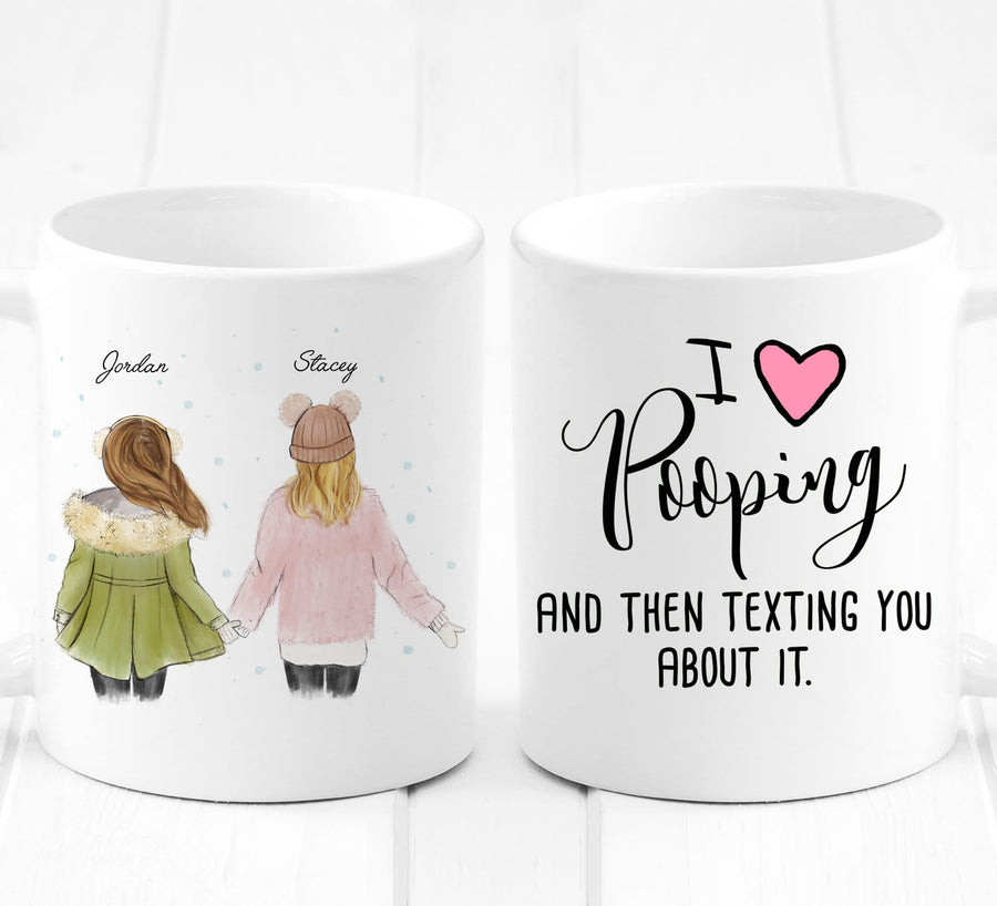 Gift for girlfriend | Personalized gift for friend  mug