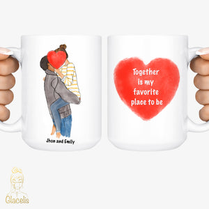 Valentine's Day gifts - Coffee Mug - Personalized Cup