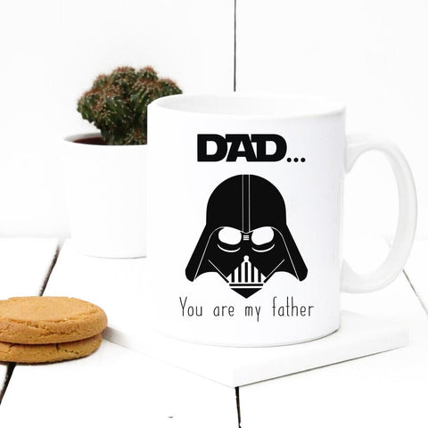 Gift  for Dad -  DAD YOU ARE MY FATHER  Coffee Mug - By Glacelis®