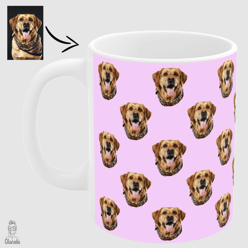 Custom Face Dog Mug