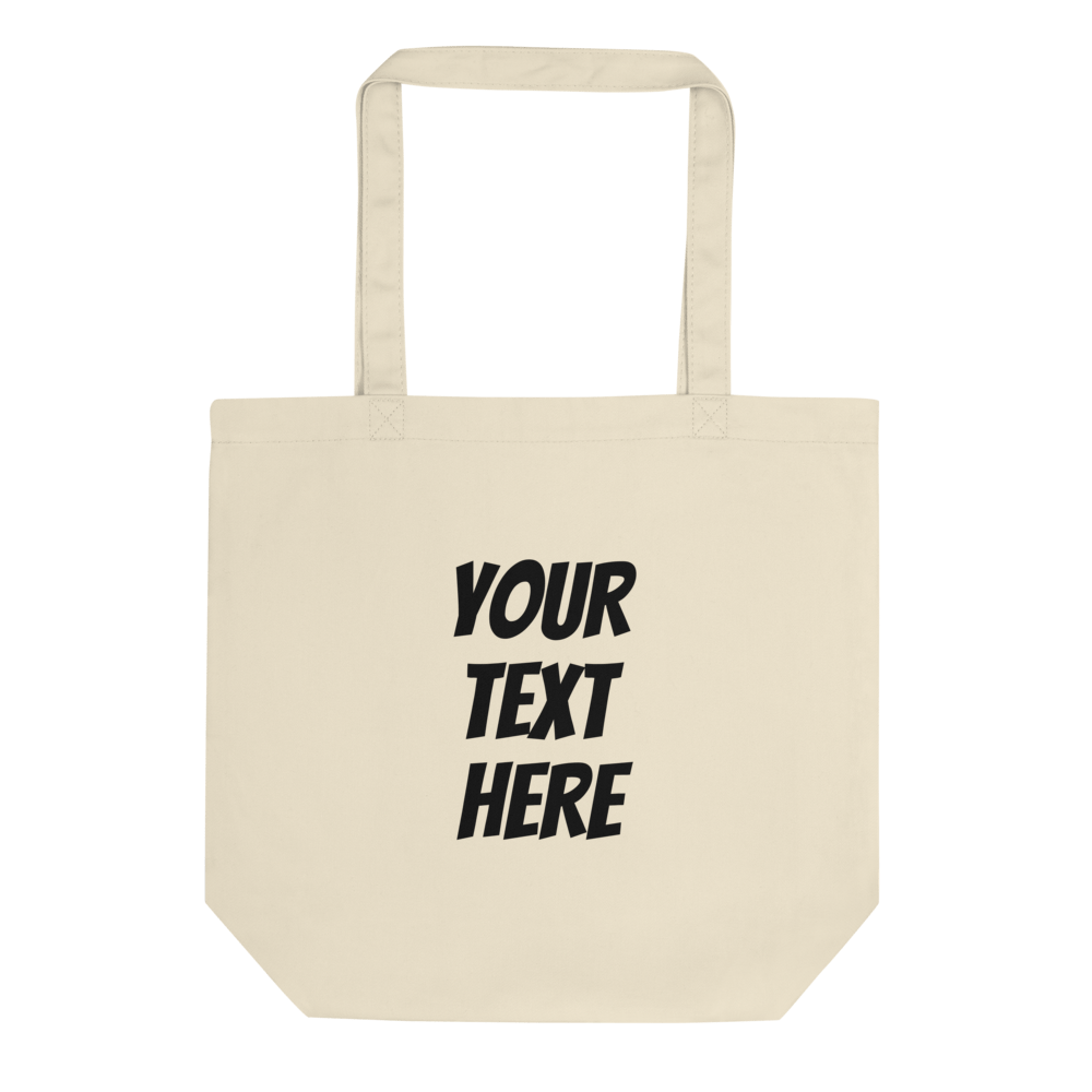 Personalized eco friendly shopping  Tote Bag - Custom Personalized Gifts for friends, Family & special occasions!
