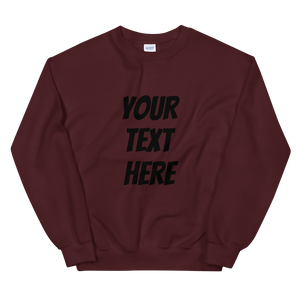 Personalized Unisex Crew Neck Sweatshirt - Custom Personalized Gifts for friends, Family & special occasions!