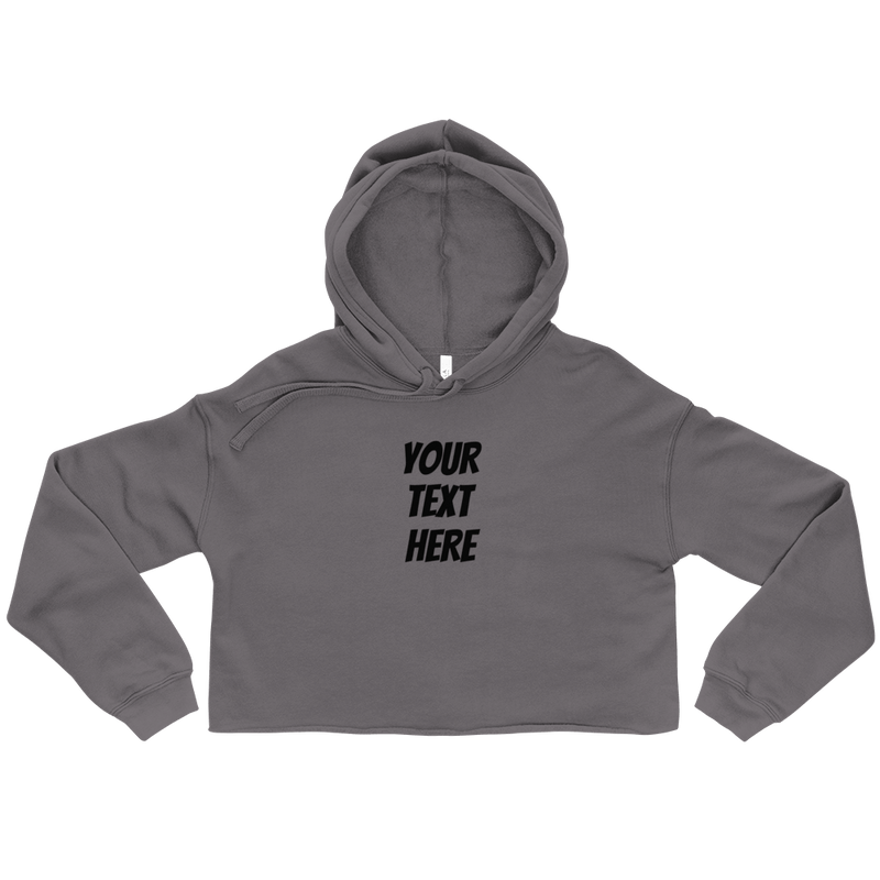 Personalized Women's Cropped Hoodie - Custom Personalized Gifts for friends, Family & special occasions!