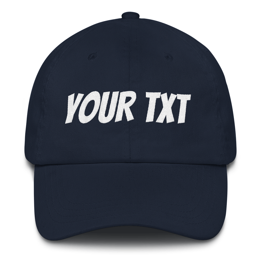 Personalized Classic Dad Hat - Custom Personalized Gifts for friends, Family & special occasions!