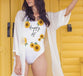 Sunflower One-Piece Swimsuit