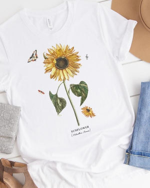 Sunflower Tee - Custom Personalized Gifts for friends, Family & special occasions!