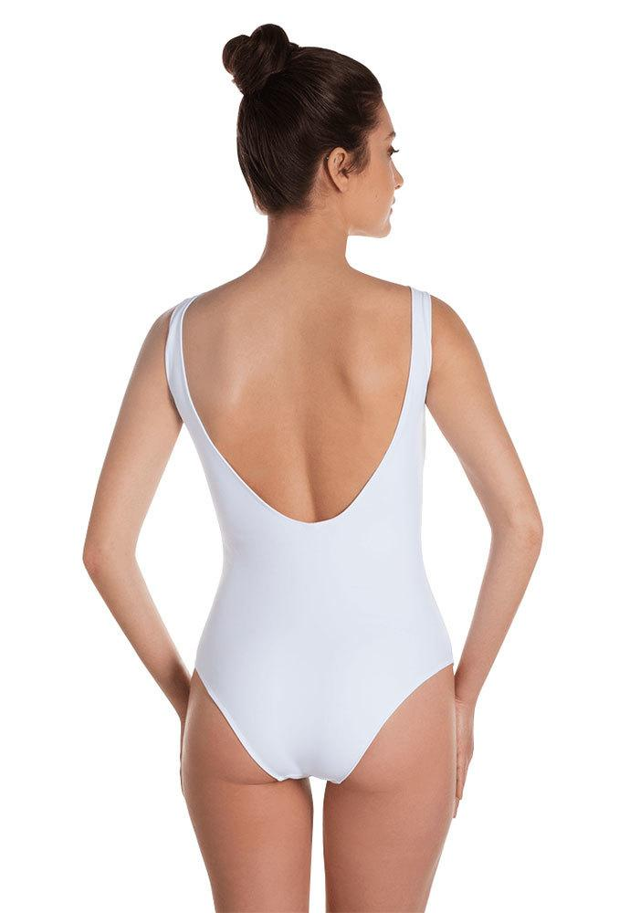 Wife of the Party white One Piece Swimsuit - Custom Personalized Gifts for friends, Family & special occasions!