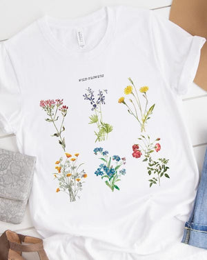 Wildflowers Tee - Custom Personalized Gifts for friends, Family & special occasions!