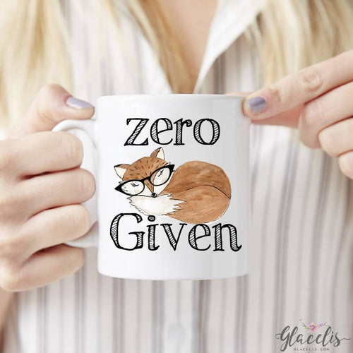 Zero Fox Given Mug - By  Glacelis® - Custom Personalized Gifts for friends, Family & special occasions!