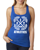 Fit Gear Athletics Racerback (White Print)