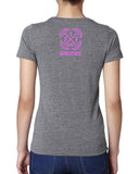 No Excuses T-Shirt (Pink Print)