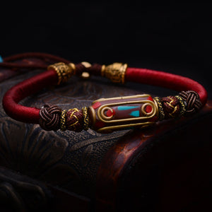 Braided Thai Sai Sin Bracelet