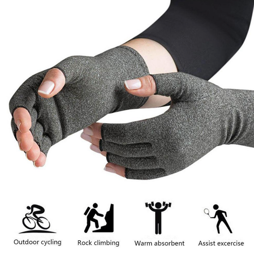 Open Fingers Compression Gloves