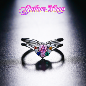[LIMITED EDITION] Silver Sailor Crystals Ring