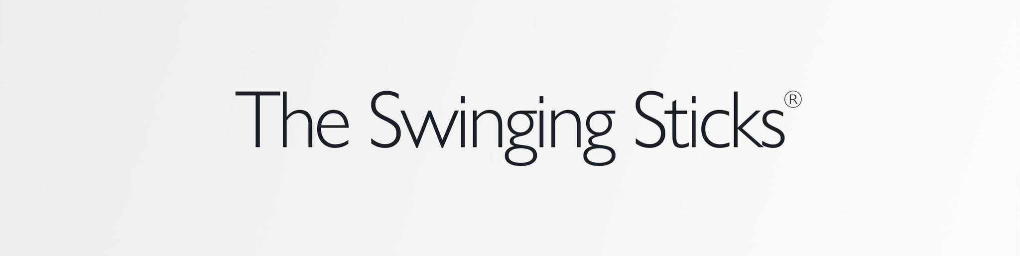 The Swinging Sticks Logo Banner