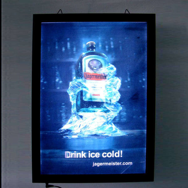 3D Lenticular Sign for Jägermeister - GeelongShop Perpetual Motion Kinetic Energy Double Pendulum Sculpture