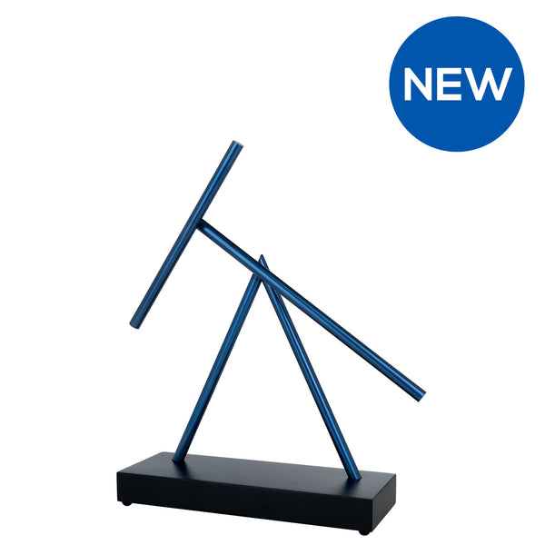 The Swinging Sticks<sup>®</sup> - Original - Matt Black Blue - Limited