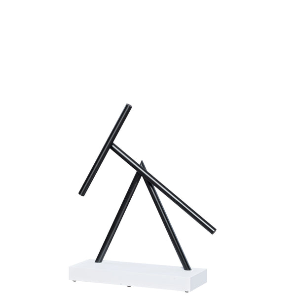The Swinging Sticks Desktop Toy White Black New Double Pendulum Kinetic Energy Perpetual Motion Sculpture