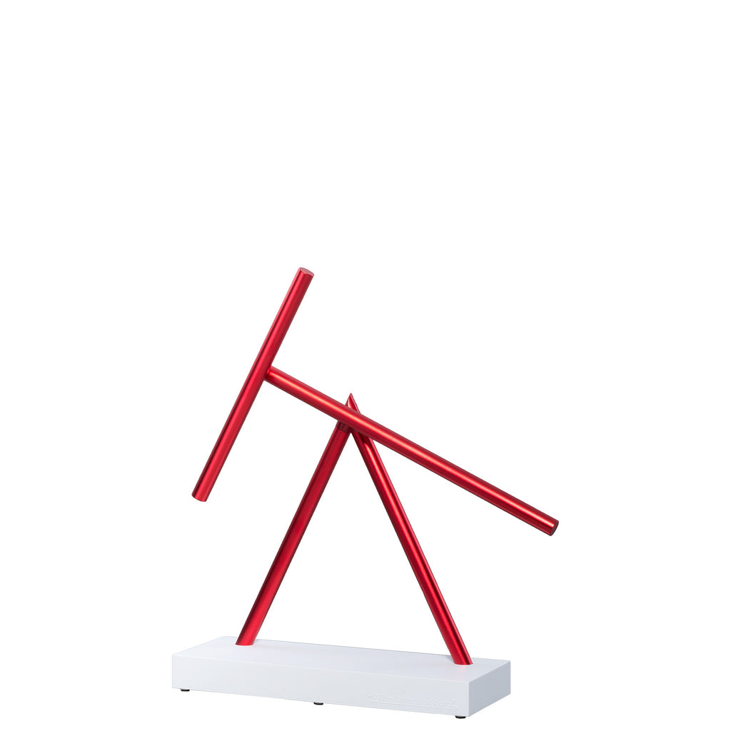 The Swinging Sticks Desktop Toy Red white new kinetic energy sculpture perpetual motion double pendulum best price art decoration check it out now