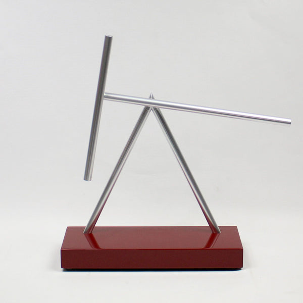 The Swinging Sticks<sup>®</sup> - Original Red - GeelongShop Perpetual Motion Kinetic Energy Double Pendulum Sculpture