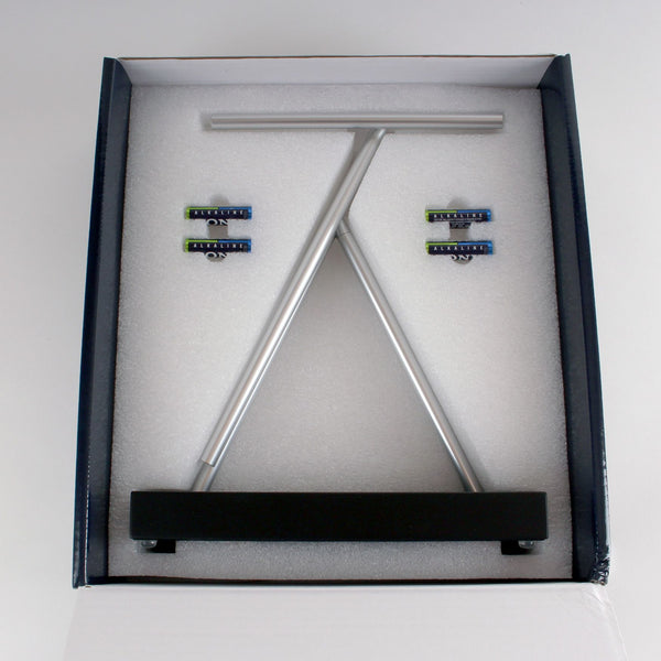 The Swinging Sticks<sup>®</sup> - Original Black - GeelongShop Perpetual Motion Kinetic Energy Double Pendulum Sculpture