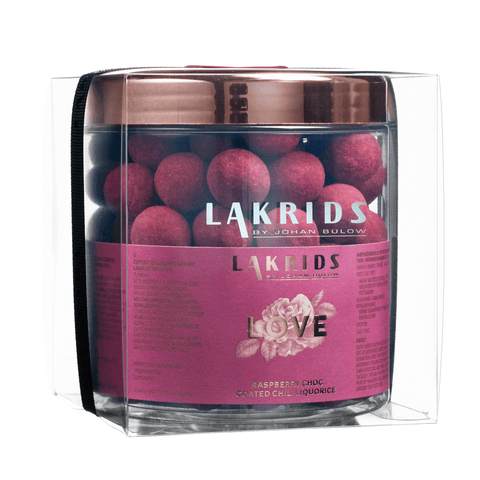 VERY BIG LOVE – Raspberry Choc Coated Chili Liquorice sis. lahjakääreen