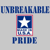 Unbreakable - USA Pride T Shirt