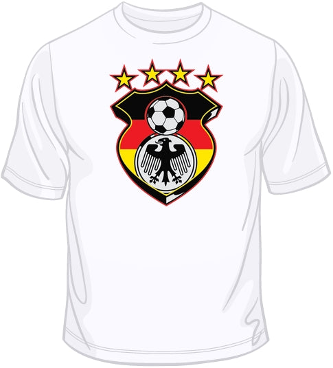 Germany Soccer Shield T Shirt