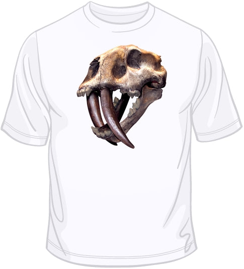 Sabertoothed Tiger - 3D Puff  T Shirt