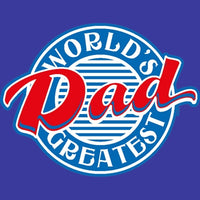 World's Greatest Dad/Diner T Shirt