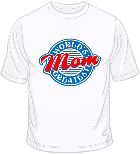 World's Greatest Mom/Diner T Shirt