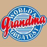 World's Greatest Grandma/Diner T Shirt