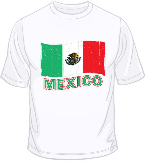 Mexico Flag T Shirt